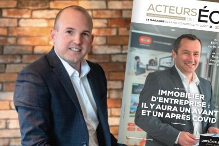 EXIA dans la presse : article du magazine ACTEURS DE L'ÉCO (n°33)